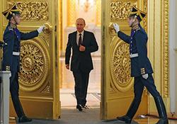 پوتین برای چهارمینبار رئیسجمهور روسیه شد