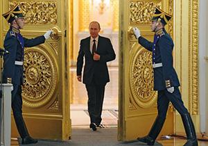 پوتین برای چهارمین بار رئیسجمهور روسیه شد