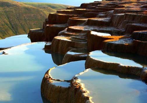 چشمه سحر آمیز در ارتفاع هزار و ۸۴۱ متری از تراز دریای خزر
