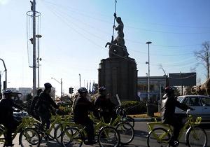 گردشگری با دوچرخههای شهرداری/ حمل و نقل پاک رویکرد تور نوروزی منطقه 11