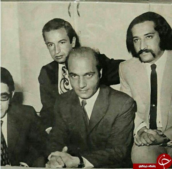 تصویری از داریوش ارجمند در کنار دکتر شریعتی در سال 50