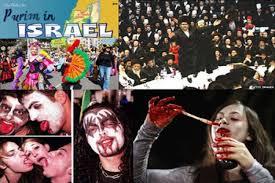 کدام را باور کنیم؛ تبریک عید نوروز یا جشن ضدایرانی پوریم +فیلم