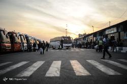 آغاز سفرهای نوروزی از پایانه مسافربری شرق تهران