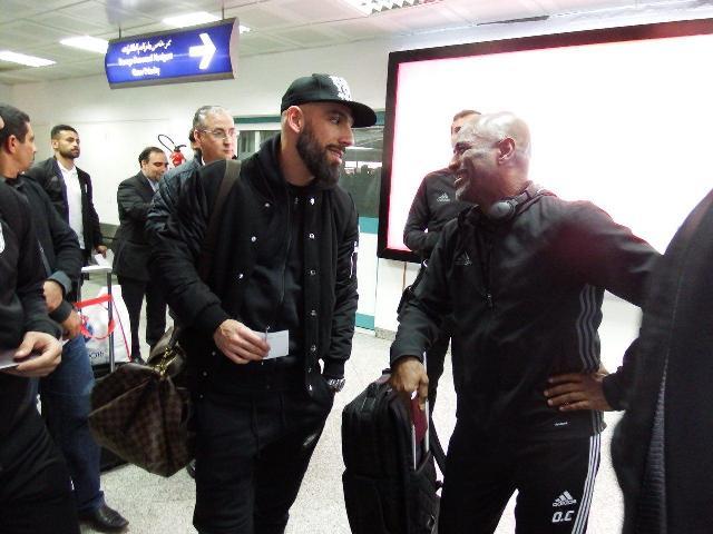 تیم ملی فوتبال کشورمان به تونس رسید