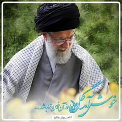 آمد بهار جانها/استقبال کاربران از سفر مقام معظم رهبری به مشهد مقدس +تصاویر