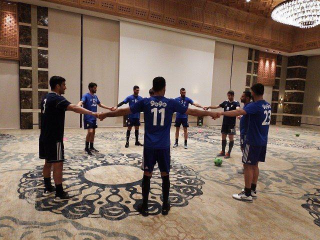 نخستین تمرین تیم ملی فوتبال کشورمان در تونس برگزار شد