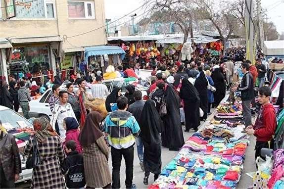 باشگاه خبرنگاران - خیابان های ایلام در ساعات پایانی سال مملو از جمعیت