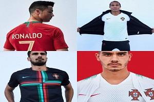 باشگاه خبرنگاران -لباس تیم ملی پرتغال رونمایی شد
