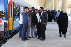 افتتاح راه آهن غرب کشور