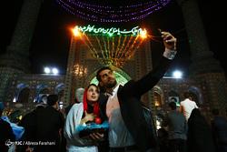 لحظه تحویل سال نو در آستان امامزاده صالح(ع)