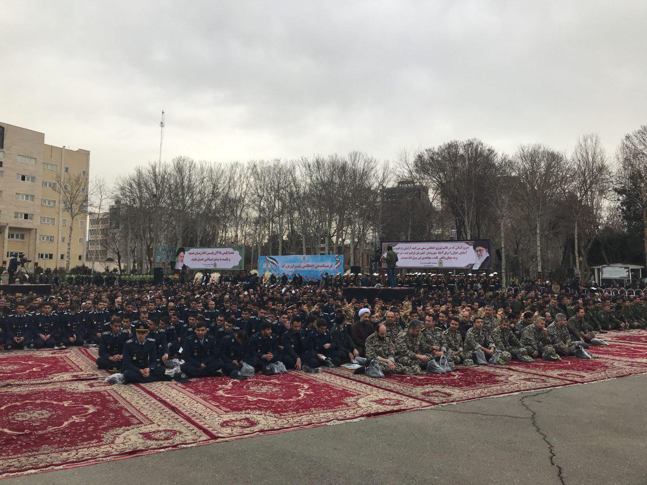 برگزاری مراسم تشییع پیکر 3 شهید ناجا حمله دراویش داعشی
