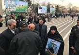 باشگاه خبرنگاران -مراسم تشییع پیکر شهدای نیروی انتظامی در اغتشاش خیابان پاسداران + فیلم