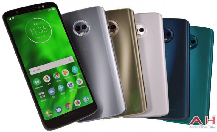 تنوع رنگ گوشی Moto G6 Plus در تصاویر لو رفته جدید