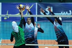 دیدار والیبال بانوان آبنوس و ذوب آهن اصفهان