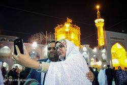 جشن ازدواج دانشجویی «همسفر تا بهشت» در حرم امام رضا (ع)