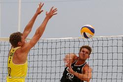 روز سوم مسابقات تور جهانی والیبال ساحلی