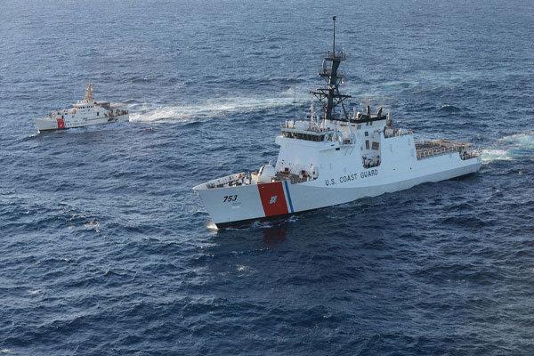آمریکا از بررسی اعزام گارد ساحلی خود به آسیای شرقی خبرداد