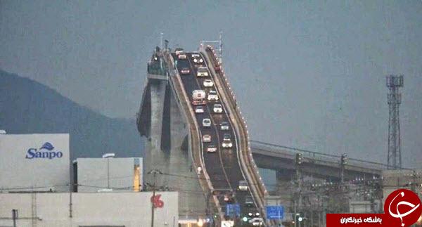 تصاویری جالب از عجیب ترین پل جهان!