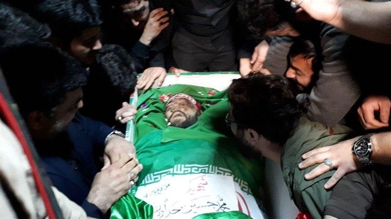 پدر شهید حدادیان: فرزندم نذر حضرت زهرا شد + فیلم