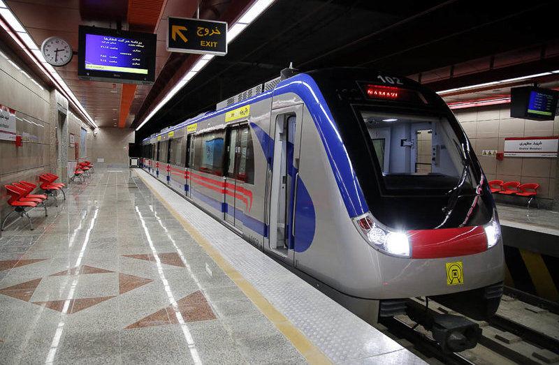 افزایش سرویس دهی در 2 خط مترو برای خدمت رسانی به شهروندان