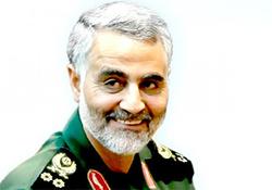 شوخی جالب سردار سلیمانی با یکی از رزمندگان + فیلم