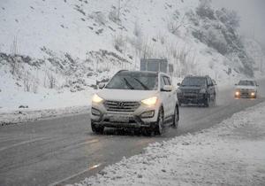 گزارش وضعیت تردد در راه ها و ادامه بارش برف و باران در استان فارس