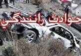 واژگونی یک دستگاه ون در محور شیراز مرودشت