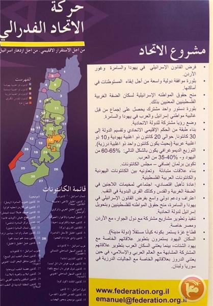 پشت پرده طرح رژیمصهیونیستی برای تشکیل «کشور واحد» فاش شد+تصاویر