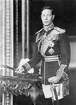 تصویری جالب از مراسم تاجگذاری پادشاه جرج ششم!