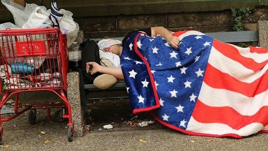 لس آنجلس تایمز: بیش از ۵۷۰۰۰ نفر در لس آنجلس آمریکا بیخانمان هستند