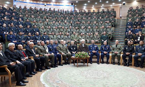 مراسم دانشآموختگی دانشجویان دانشگاه فرماندهی و ستاد ارتش برگزار شد