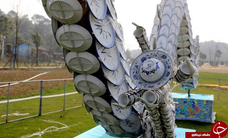 تصویری از اژدهای چینی 100متری