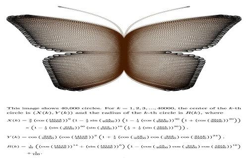 خلق طرحهای هنری زیبا با معادلات ساده ریاضی