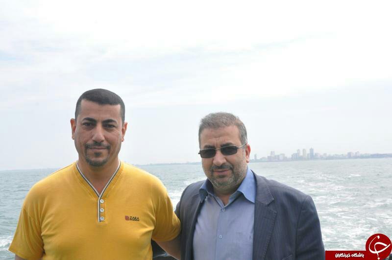 بازدید هیأت عراقی از ایستگاه شناور پرورش ماهی در قفس