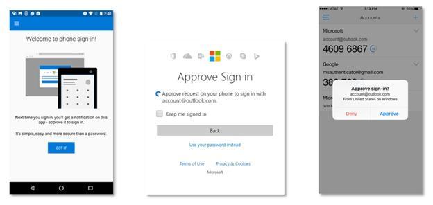 امکان ورود به حساب کاربری مایکروسافت، بدون رمز عبور و با استفاده از گوشی
