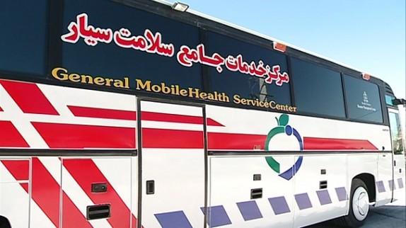 رونمایی از اتوبوس جامع سلامت در زنجان