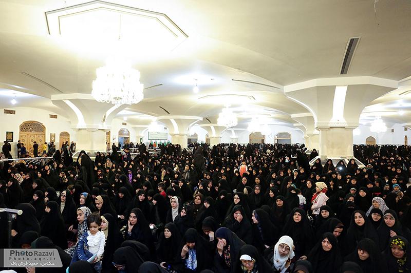 برگزاری جشن اعیاد شعبانیه در رواق حضرت زهرا (س) ویژه بانوان