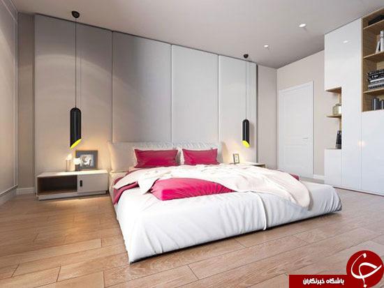 لامپ های زیبا و مدرن در دکوراسیون اتاق خواب+عکس