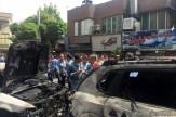 باشگاه خبرنگاران -خودروی بازیگر مشهور در آتش سوخت +عکس