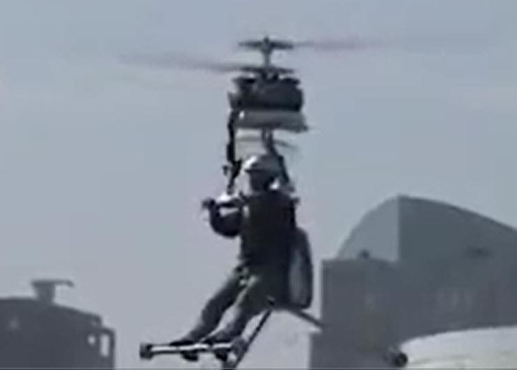 پرواز با موتور سيکلت را تجربه کنيد