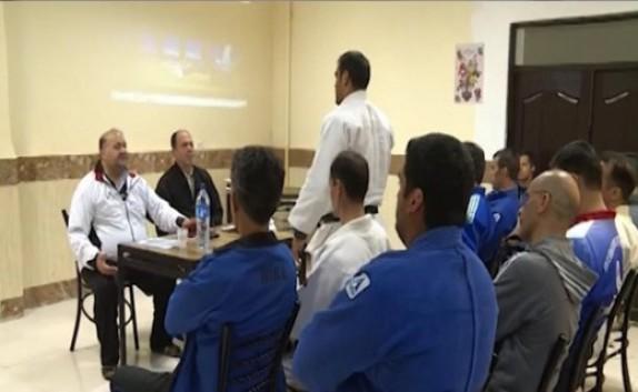 باشگاه خبرنگاران - پایان دوره کشوری داوری جودو و کوراش در مهاباد