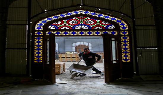 فعالیت بیش از 3 هزار کارگر و استادکار ایرانی برای بازسازی عتبات عالیات+ تصاویر