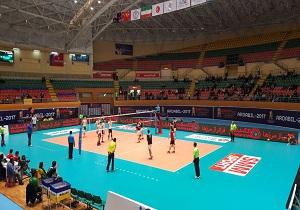 پیروزی قزاقستان مقابل ازبکستان در مسابقات والیبال امیدهای آسیا