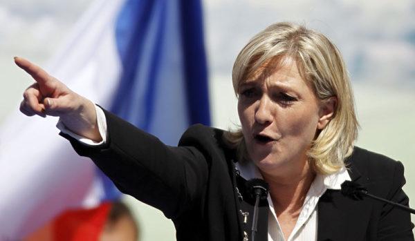 قُمار مارین لوپن بر سر یورو