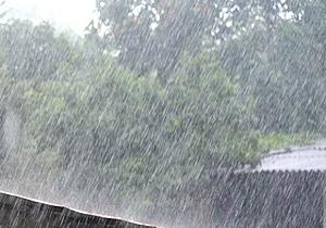 رگبار شدید باران بهاری در شهرکرد
