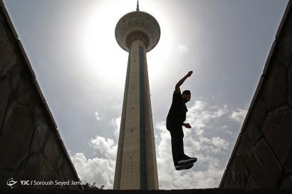 افتتاح زیپ لاین و پل معلق برج میلاد