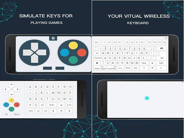 تبدیل گوشی به ماوس،دسته بازی و کیبورد با دانلود WiFi Mouse Pro برای اندروید