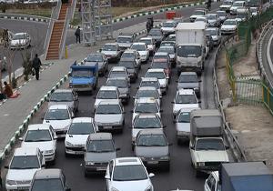 بارش باران در 7 استان کشور/ ترافیک نیمه سنگین در آزادراه کرج - تهران