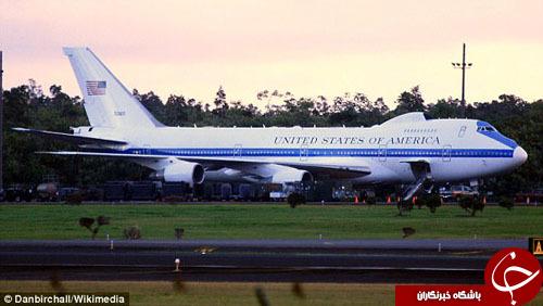 تعقیبکننده هواپیمای رئیس جمهور آمریکا کیست؟+ تصاویر
