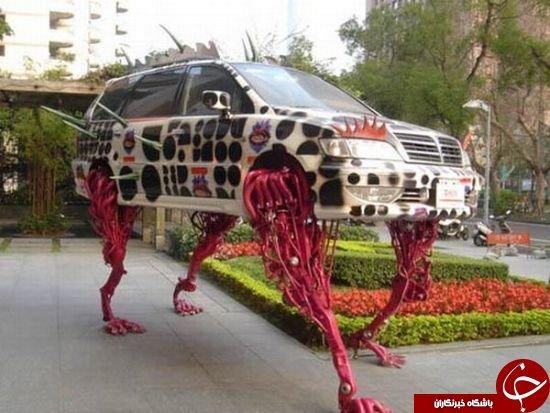 عجیب ترین اتومبیل هایی که تاکنون دیده اید+تصاویر